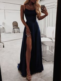 A-Line Navy blue Prom Dresses Satin Fashion Dress Cheap Evening Dress Long Party. - A-Line Navy blue Prom Dresses Satin Fashion Dress Cheap Evening Dress Long Party Evening gowns – Source by - Navy Blue Prom Dresses, Princess Prom Dresses, Pretty Prom Dresses, Best Prom Dresses, Prom Outfits, Elegant Prom Dresses, Evening Dresses For Weddings, Cheap Evening Dresses, Simple Dresses