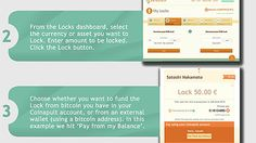 How to Lock you Bitcoin in 4 easy steps. Lock to currencies and assets to avoid BTC volatility