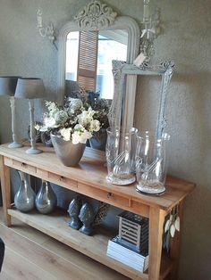Meer dan 1000 afbeeldingen over huis decoratie op for Decoratie tafel landelijk