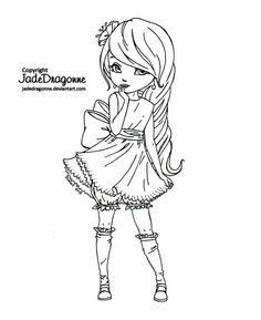 Muñeca Jade Dragonne