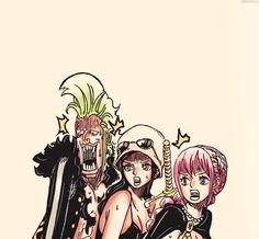 Bartolommeo, Robin, Rebecca