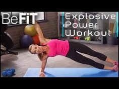 Explosive Power Workout: Kristal Richardson - YouTube.     LOVED LOVED THIS....ABOUT 11 MINS.