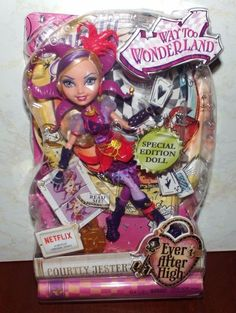 Ever After High Courtly Jester Doll Special Edition New! #Mattel #DollswithClothingAccessories