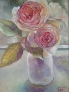 englishroses at the window.. rose inglesi alla finestra