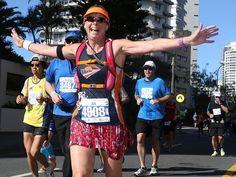 Half and full marathon action   Gold Coast Bulletin
