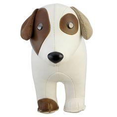 JACK RUSSEL TERRIER chien. Les animaux délirants de Züny peuvent servir de décoration, de cale-porte ou de serre-livres.