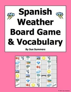 example of spanish weather forecast projects to show my students they are not perfect so they. Black Bedroom Furniture Sets. Home Design Ideas