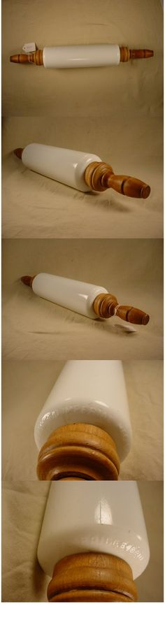 Imperial Milk Glass Rolling Pin