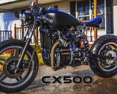 Local customer in Michigan and his #cx500 with a #bobber conversion #kit