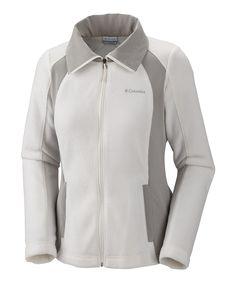 Sea Salt & Flint Gray Sugarcreek III Jacket - Women by Columbia #zulily #zulilyfinds $29
