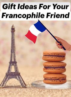 Looking for a gift to give that person who never stops talking about France? You've made it to the right place! Here are 15 gifts for Francophiles they are sure to love. Paris Party, French Nails, Cool Gifts, Macarons, Gift Guide, Stop Talking, France, Versailles, Tableware