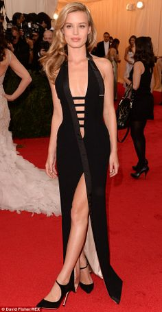 Georgia May Jagger and Chrissy Teigen decided to shun the theme in favour of racy dresses...