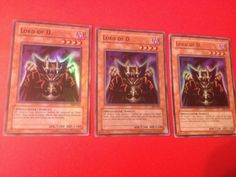 Yu-Gi-Oh! 3x Lord of D. - SDK-041 - Super Rare - Unlimited Edition - HP - DC -  in Toys & Hobbies, Trading Card Games, Yu-Gi-Oh!, Individual Cards   eBay