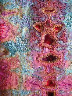 felt, embroidery