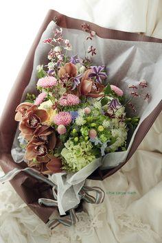 昨年7月のリストランテASOの花嫁様、 http://ichiecarpe.exblog.jp/21465664/  お花が大好きなお義母様...
