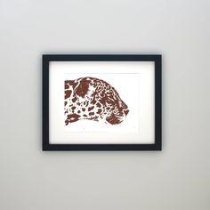 Jaguar Art, Wildlife Art, Animal Art, Screen Print Art, Jaguar Decor, Animal Decor, Wildlife Decor, Housewarming Gift, Zoo Art Jungle Theme Parties, Safari Party, Wildlife Decor, Wildlife Art, Zoo Art, Safari Decorations, Colour Board, Color, Brown Decor