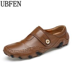 27.98$  Buy now - UBFEN Men Shoes Casual  Lace-up Men Loafers Moccasins Flats Sapatos Masculinos Comfortable Big Size 38-46 Male Shoes  #shopstyle