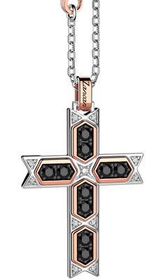 Cross Pendant, Crosses, Silver Jewelry, Gold, Silver, Silver Jewellery, Yellow