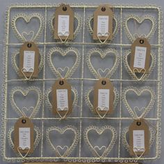 Cream Heart Wedding Table Plan www. Tea Party Wedding, Wedding Table, Rustic Wedding, Our Wedding, Plan Design, Table Plans, Unique Weddings, Wedding Stationery, Wedding Inspiration