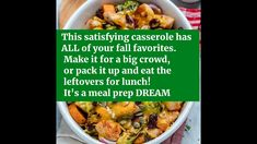Chicken Casserole Recipe - Harvest Chicken Casserole Recipe Chicken Casserole, Casserole Recipes, Diet Meal Plans, Meal Prep, Make Money Blogging, How To Make Money, Jewelry Box Plans, Cosmetic Shop, Skincare Blog
