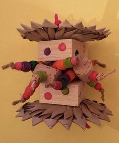 Igotawoody bird toys