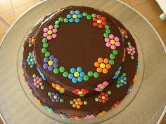 Web-Image - [board_name] - Kuchen Easy Cake Decorating, Cake Decorating Techniques, Big Cakes, Fancy Cakes, Pretty Cakes, Creative Cakes, Celebration Cakes, Yummy Cakes, No Bake Cake