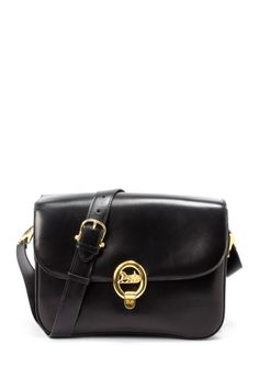 da5b770399 Vintage Celine Leather Shoulder Bag on HauteLook Celine Box