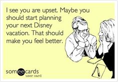 Though I have a personal Disney planner...thinking of Disney always makes me feel better!