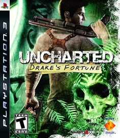 """Uncharted: Drake""""s Fortune - Playstation 3 Ps3 Games, Playstation Games, Phone Games, Uncharted Drake's Fortune, Uncharted Series, Video Game Collection, Videos, Greatest Hits, Video Game Console"""