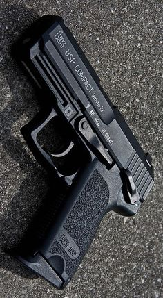 HECKLER & KOCH - HK USP 9 COMPACT (V1) 3.58IN 9MM HANDGUN SEMI AUTO PISTOL FIREARM BLUE 13+1RD @aegisgears