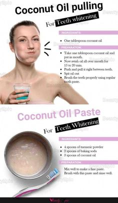 Teeth Whitening Remedies, Natural Teeth Whitening, Whitening Kit, Skin Whitening, Whitening Teeth Coconut Oil, Acne Remedies, Coconut Oil For Teeth, Benefits Of Coconut Oil, Coconut Oil Uses For Skin