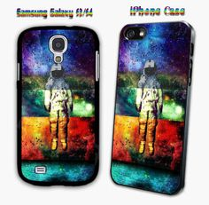 flying astronout brand new for iPhone 4/4s/5/5s/5c, Samsung Galaxy s3/s4 case