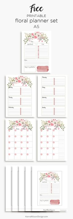 13 Gorgeous Free Printable 2018 Calendars