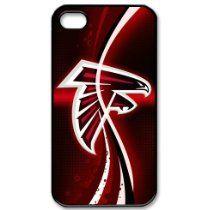 NFL Atlanta Falcons iPhone 4/4s Cases Falcons logo - $13.99