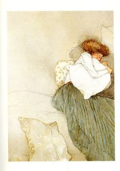 "O.Henry ""The Gift of the Magi"" Watercolors by award-winning illustrator Lisbeth Zwerger"