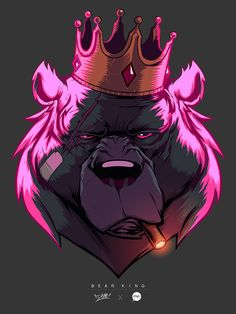 Bear King Colors on Behance