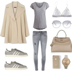 Ease by fashionlandscape on Polyvore featuring Mode, Pieces, Warehouse, Fleur of England, adidas, Fendi, Topshop, Isabel Marant and Gestuz