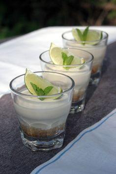 Mojito Cheesecakes by passionatecook