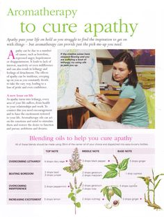 Young Living Essential Oils: Apathy Emotions www.facebook.com/plumnaturalfarmacy.com
