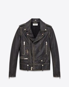 Saint Laurent Leather Jacket: discover the selection and shop online on YSL.com