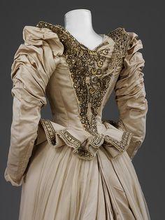 Charles Frederick Worth wedding gown worn by Alice Wade Everett 1879 - Recherche Google