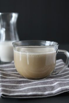 Whole30 compliant Latte from the Whole Smiths. No added sweeteners or dairy, paleo friendly.