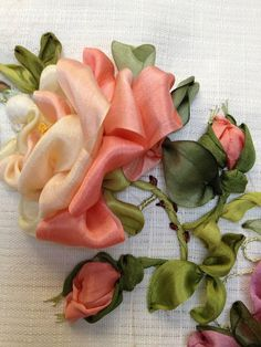 Sweet Ribbon Embroidery~Donnine~