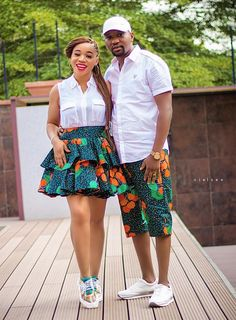 32 Chic Ways To Rock Ankara Fashion For Couples – Nigerian Wedding // Wedding inspiration website Couples African Outfits, African Dresses Men, African Attire For Men, African Shirts, Latest African Fashion Dresses, Couple Outfits, African Wear, Ankara Fashion, Family Outfits