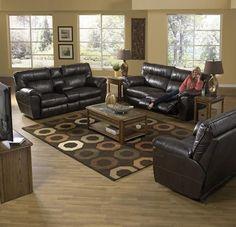 2 Piece Oversize Reclining Living Room Set - Nolan