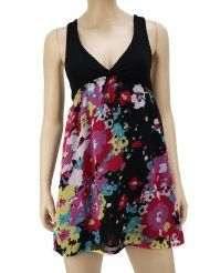 "Roxy Women's ""Hazy Surf"" Triangle Dress Pink With Laced Back"
