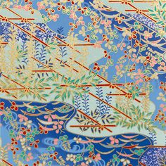 403. Chiyogami papír Gramáž: 70g/m2 Fotografie je pořízena z formátu 14 x 14cm Upozornění: archy jsou nařezány z velkých formátů, proto se rozložení motivu na menších arších může kus od kusu lišit. Dostupné formáty: 14 x 14cm - 13Kč/arch 14 x 28cm - 24Kč/arch 28 x 40cm - 69Kč/arch 40 x 54cm - 135Kč/arch ...