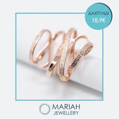 Συνδυάστε τα σφυρήλατα #αξεσουάρ της #Cathrene σε ρόζ χρυσό για μοναδικές εμφανίσεις!!💍💄👠  Τρόποι Παραγγελίας: 💻 www.mariah.gr 📩 μήνυμα στην σελίδα μας  #mariahjewellery #mariah #κοσμήματα #βραχιόλι #δαχτυλίδι #κολιέ #pinkgold #perfect #unique Wedding Rings, Engagement Rings, Jewelry, Enagement Rings, Jewlery, Jewerly, Schmuck, Jewels, Jewelery
