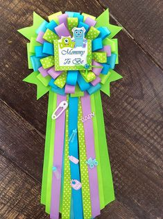 Mommy to be monsters inc baby shower Monsters by Marshmallowfavors