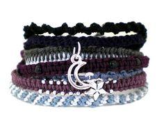 Journey of the Moon #Friendship #Bracelets #homemade #jewelry $45